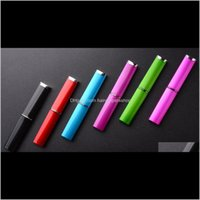 Commercio all'ingrosso 6pcs vari colori cristallo professionale cristallo cristallino file per unghie hard custodia rigida sx0ej gh6qd