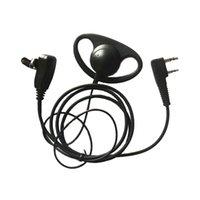 Форма мягкий наушник гарнитура наушники для наушников микрофон для 2-контактных портативных радио KENWOOD BAOFENG UV5R UV82 BF-888S / 777S / 666S TYT HYT WACKIE CALKIE аксессуары