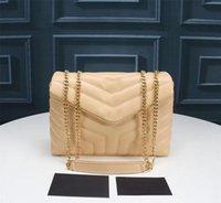 Newset Classic Real Riele Filap Chain Borse a tracolla Borse Borse Donne Clutch Messenger Bag Crossbody Borsa Shopping Tote