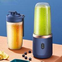 Blender portátil 400 ml Mini exprimidor de frutas eléctricas de la fruta USB Limón Naranja Fruta Juicing Copa Smoothie Blender Máquina