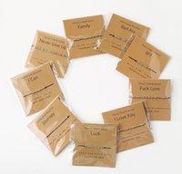 Código Morse Handmade Pulseira Beads Ajustável Corda Preta Charme Braceletes com eu te amo lettering papelão criativo jóias para amigo Família atacado