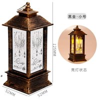 LED Ramadan Lantern Wind Lights Decor For Home Eid Mubarak Islamic Muslim Party Decor EID Al Adha Kareem Gifts NHD6821