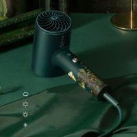 SOOCAS H5 الرئيسية سلبية أيون مجفف الشعر عالية الطاقة 1800W الباردة والساخن الهواء فان جوخ هدية مربع