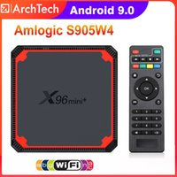 X96 MINI Plus Smart TV BOX 4K 1080P Android 9.0 Amlogic S905W4 Quad Core 2.4&5G WiFi Set TopBox Dual Youtube Support Google Voice X96Mini Media Player