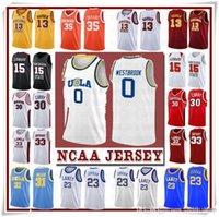 NCCA Jersey Kawhi Leonard Джеймс Иверсон Родман Мужчины 23 Дюрант 13 Хардин Карри Стивен Колледж Баскетбол Майки Рассел Уэстбрук MEN8