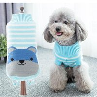 Dog Apparel Winter Cartoon Clothes Warm Christmas Sweater For Small Dogs Pet Clothing Coat Knitting Crochet Cloth Jersey Perro