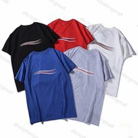 2021 Erkek Kadın Tasarımcı T Shirt Yaz Erkek T-shirt Rahat Mans Bayan Gevşek Tees Kısa Kollu