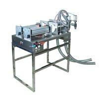 A ferramenta elétrica ajusta a máquina do enchimento do pistão da cabeça dupla da tabela 30-10000ml de enchimento padrão do enchimento da garrafa de água de enchimento de enchimento de água