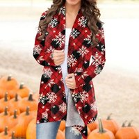 Women's T-Shirt Christmas And Halloween Personality Soft Fashionable Long-sleeved Long Sweater Loose Comfortable