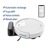 2021 Automatic Smart Sweeping Robot Machine Vacuum Cleaner 2500Pa Strong Suction Multifuction Floor App voice control Mopping