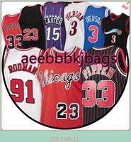 33 Scottie 91 Dennis Pippen 23 MJ Jersey Rodman 15 Vince Iverson Carter 3 Allen NCAA Basketball Jerseys CXCZ