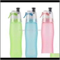 غيرها من الجملة 740 ملليلتر ماء شرب التغشية رذاذ رياضة رياضة جيم بارد زجاجة أزياء في الهواء الطلق drinkware BA2ON WD7G6