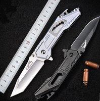 2021 HW125 Self-defense Knife Multifunctional Saber Outdoor Tool High Hardness D2 Steel Tactical Folding Knives Survival Equipment