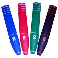 Publicanos al por mayor PU Putter Grip 2 letra Impresión para clubes de golf Accesorios de alta calidad