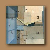 Horloges murales Elegant Froane Horloge Art de luxe Cat Chambre à coucher PO Chambre à coucher moderne pour la maison
