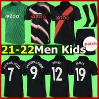21 22 Everton Soccer Jerseys The Toffees EFC Richarlison James Digne Keane Calvert-Lewin Godfrey 2021 Jersey Men Adulti Kit per bambini Kit calzini Set completi Camicie da calcio Thai