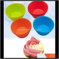 أزياء 7 سنتيمتر شكل جولة القزم كيس الكعك كعكة كب كيك بطانة الخبز العفن 7 ألوان اختيار ly jhcwz jphzl