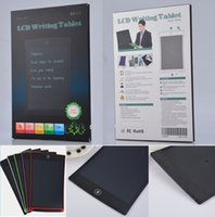 LCD الكتابة اللوحي 8.5 'بوصة لوحة الرسم الإلكترونية لوحات بخط اليد رقيقة جدا مع زر محو القلم + مربع التجزئة