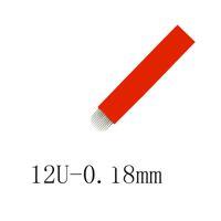 200 قطع 0.18 ملليمتر ماكياج دائم الحاجب شرفة المتاح شفرات إبر ل microblading دليل القلم الوشم اللوازم