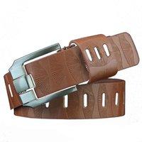Belts Leather Belt Men Top Luxury Pin Buckle Man Solid 2021 Fashion Jeans Pants Decorative Accessories Cinturón