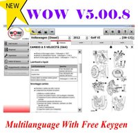 كود القراء أدوات المسح الضوئي البرمجيات Wurth 5.00.8 متعدد اللغات مع Keygen المجاني ل VD TCS Pro Delphis 150e MultiTiag السيارات والشاحنات