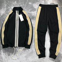 الرجال رياضية أزياء السترات الدعاوى رجالي الهيب هوب نمط الملابس مجموعة الخريف الشتاء الرياضية معطف + عداء ببطء السراويل 3 أنماط