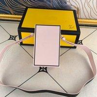 Box shopping di alta qualità Borsa per le borse a tracolla delle donne Borse a tracolla a tracolla in vitello in pelle di vitello in vera pelle lettera f borse borse borse con scatole regalo portafoglio