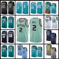 2 Lamelo Bola Mens Charlotte Hornets 20 Gordon Hayward Basketball Jerseys Memphis Grizzlies 12 Ja Morant 2 Collin Sexton Cleveland Cavaliers