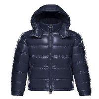 2021 Мужская куртка Parkas Классические повседневные зимние пальто наружного перья Удостоверение теплых Дудун Homme Унисейская одежда Верхняя одежда с капюшоном Холодная защита