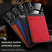 pu leather retro back cases for iphone 12 11pro xs xr 7plus 8plus 6 Samsung s20 ultra NOTE 20 pro mobile phone protective cover tpu case