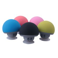 Cartoon fungo Bluetooth Speaker Vent'inpring Phone Staffa Portatile Piccolo stereo esterno