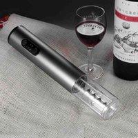 Abrebotellas Automático Botella de vino Abres de vino eléctrico Multi Color Aleación de aluminio Automático Caja sin cable Cocina Cocina Herramientas Regalo BH0636 BC