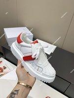 Dior-ID shoes 2021 Women's Shell-Toe Blanco Zapato Casual Italia Zapatos de diseño de lujo All-Match Cuero Suela gruesa Retro Patchwork ID Sneakers Tamaño 35-40