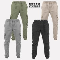 Erkek pantolon kargo savaş iş pantolon chino pamuk pantolon giymek kot pantolon