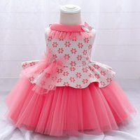 Dress For Baby Girl Summer Elegant Lace Cake Net Yarn Prince...
