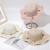 Saman Güneş Şapka Kadın Yaz Katı Renk Büyük Disket Çiçek Sahil Gelgit Ile Büyük Şapkalar Plaj Kap