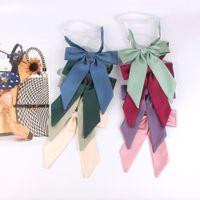 Дамы Bowtie повседневная галстук-бабочка для женщин однородный воротник бабочка лук узел для взрослых бантики галстуки Cravat дети бабочки рубашка