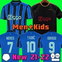 ajax 20 21 A J Hacha Soccer Jersey FC 2021 Kudus Antony Pied Blind Promes Tadic Neres Cruyff Men Kit Kit Kit de Fútbol Uniformes Tercero 50
