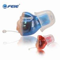 Mini numérique dans les aides auditives auditives assistance Aides sur l'oreille sans fil Entendre clairement pour les personnes âgées sourds modérées à une perte sévère S-11ASASOUT