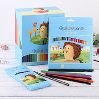 color pencil creative cartoon lovely drawing pen children's student gift color pencil