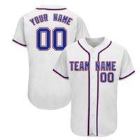 Hombres personalizados Jersey de béisbol 100% cosido en cualquier número y nombres de equipos, si hacen que Jersey PLS agregue comentarios en el orden S-3XL 034