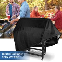 BBQ Tools & Accessories Waterproof Barbeque Cover Outdoor Rain Grill Anti Dust Protector For Heavy Duty Gas Charcoal Electric Barbecue Bag DY4G