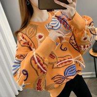 Women's Hoodies & Sweatshirts Sweatshirt Fashion Harajuku Streetwear Female Loose Casual Long Sleeve Pullovers Clothing