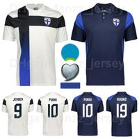 2020-2021 Euro Cup Finland Soccer Jersey National Team 10 Pukki 9 Jensen 14 SPARV 13 SOIRI 2 Arajuuri 11 Schuller Football Commets Kits