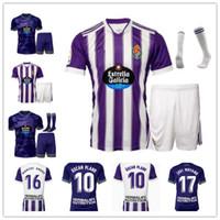 2021 2022 Real Valladolid Futebol Jerseys Enes Unal Oscar Plano Javi Moyano Sergi Guardiola Football Men Kits Kits