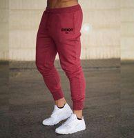 Erkek Jogger Pantolon Yeni Marka Tasarımcısı Spor 2021 Fitness Egzersiz Germe Sıska Sweatpants Rahat Giyim Moda Yüksek Kalite M-3XL