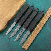 Nouveau couteau automatique de Damas avec poignée en aluminium en fibre de carbone Petite-tabouret Petite défense à la défense autopornelle BM940 en couteau pliant A16 C07