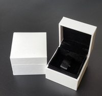 Cajas de embalaje de joyas 5 * 5 * 4 cm Classical Blanco Square para Pandora Charms Tercer Anillo Pendientes Pantalla Caja original