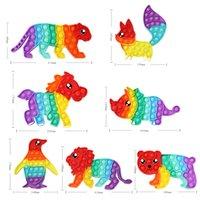 Giocattoli antistress giocattolo per bambini per bambini adulti Push Bubble Fidget giocattolo sensoriale Squishy Jouet pour Autist