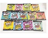 Trrlli Mylar Bolsas 600 mg Peachie vacío EDIBLE EDIBLES Candy Gummi Zipper Resellable Bolsa de embalaje Free Shh